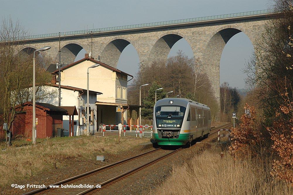 moderne Bahn....