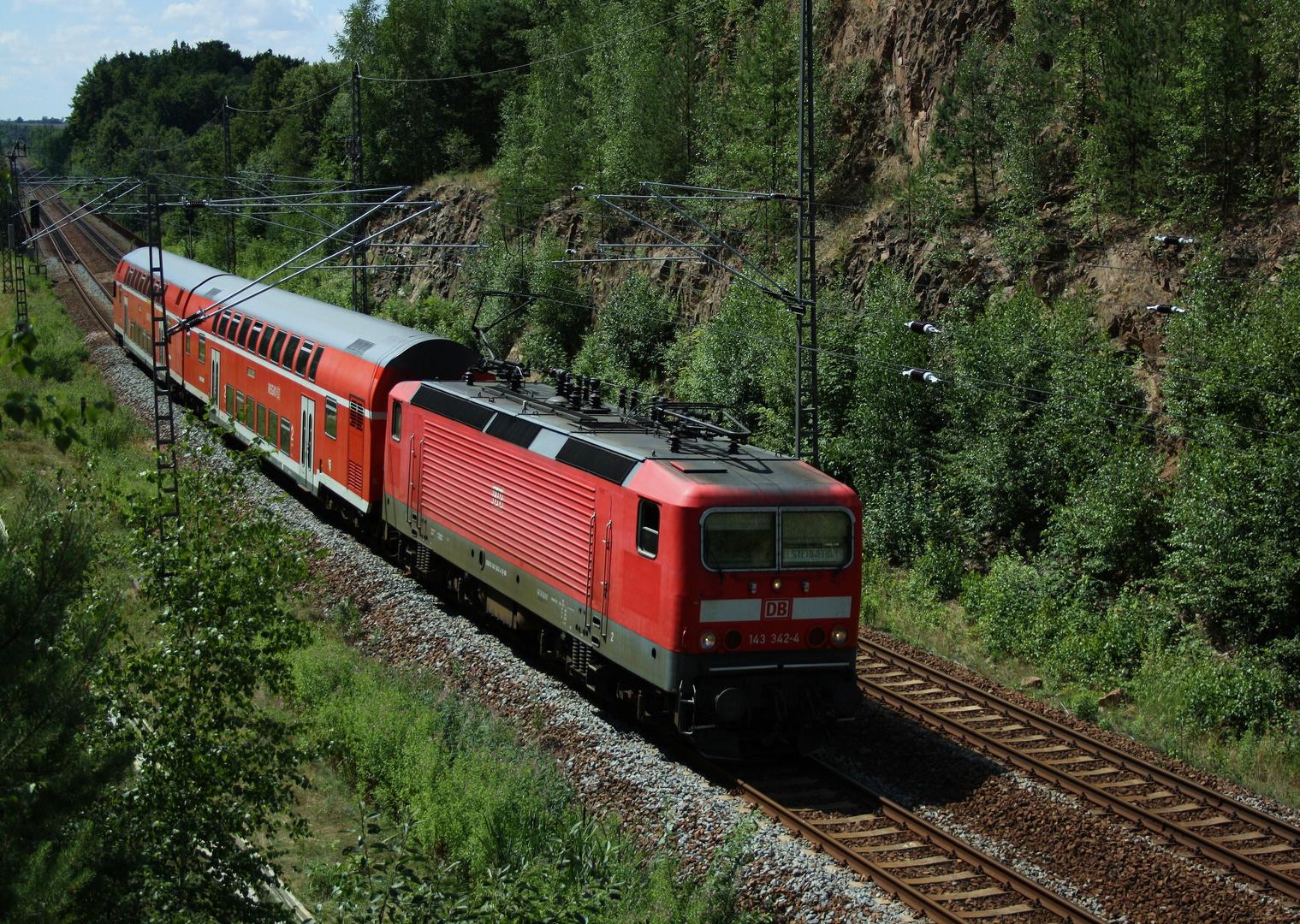 Moderne Eisenbahn