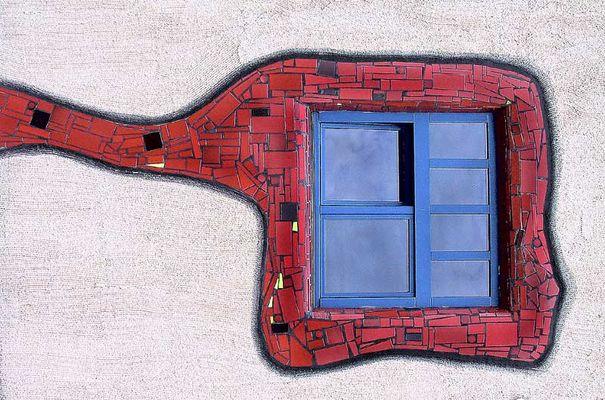 Moderne Fenstereinfassung