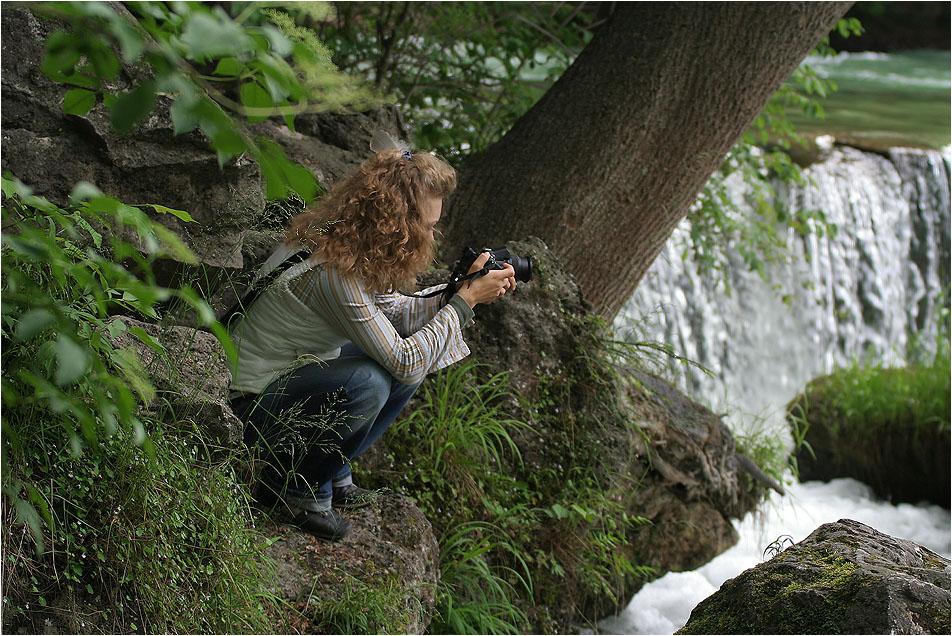 Moderne Jane im bayerischen Urwald
