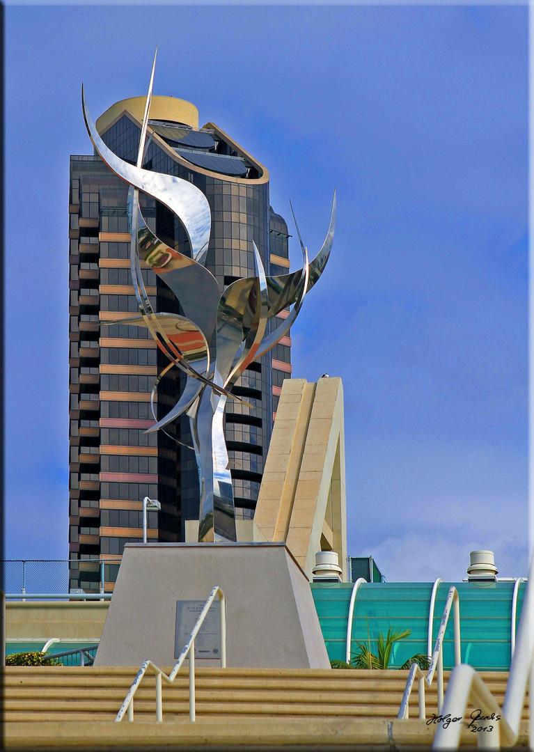 Moderne Kunst am Convention Center San Diego