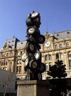 Moderne Kunst an der Gare Saint Lazare