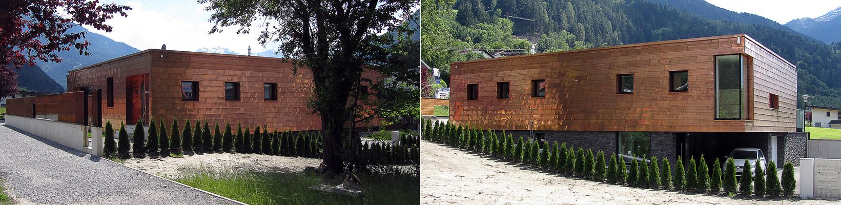 Moderne, ländliche Architektur
