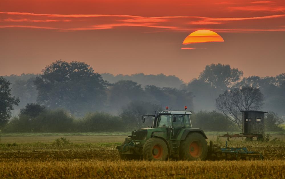 Moderne Landwirtschaft ;-)