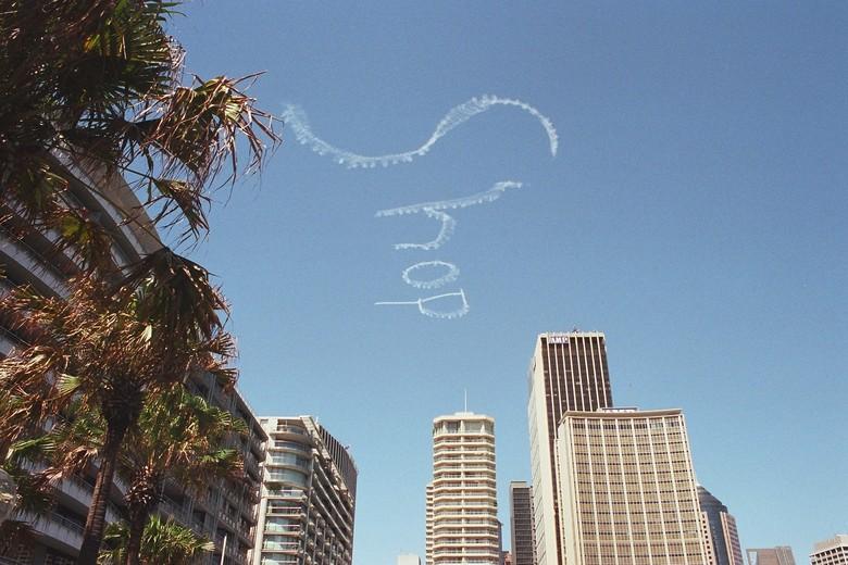 Moderne Reklame in Sydney