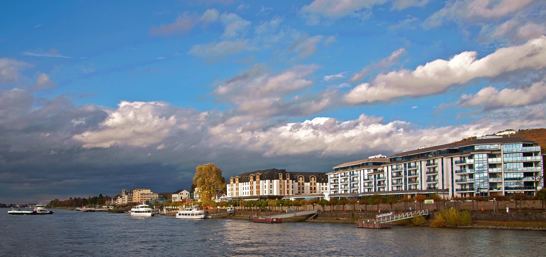 Moderne Rheinromantik - Königswinter Herbst 2013