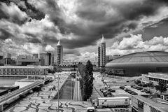 moderne Stadtansicht