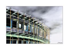 Moderne Universitäts-Architektur