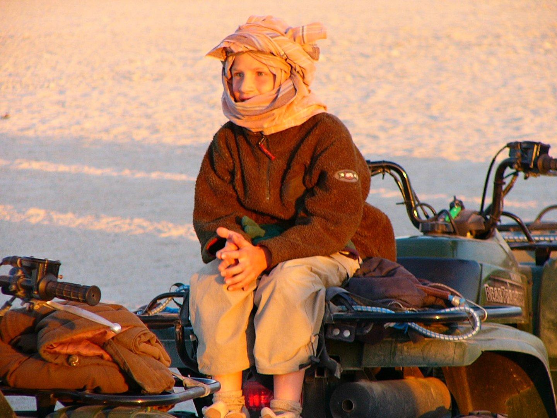 Moderner Beduine