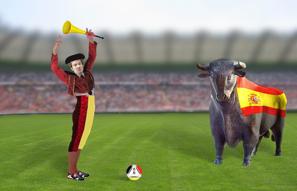 Moderner Stierkampf