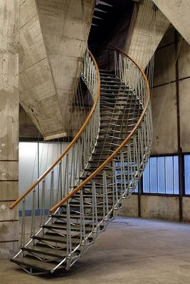Moderner Treppenbau