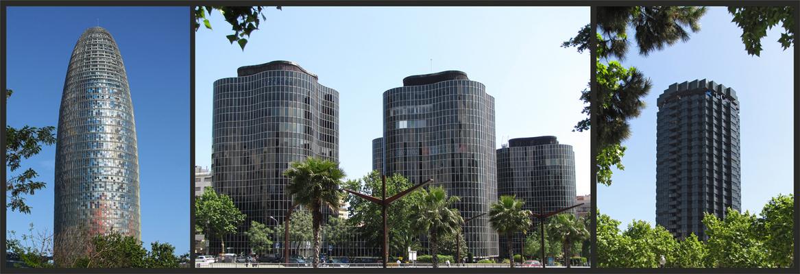 Modernes Barcelona
