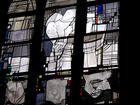 Modernes Kirchenfenster im St.Paulus-Dom zu Münster