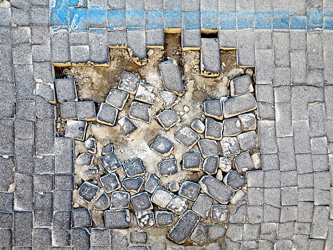 Modernes Mosaik? / Mosaico moderno?