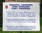 Modernisierungsarbeiten in Shighisoara