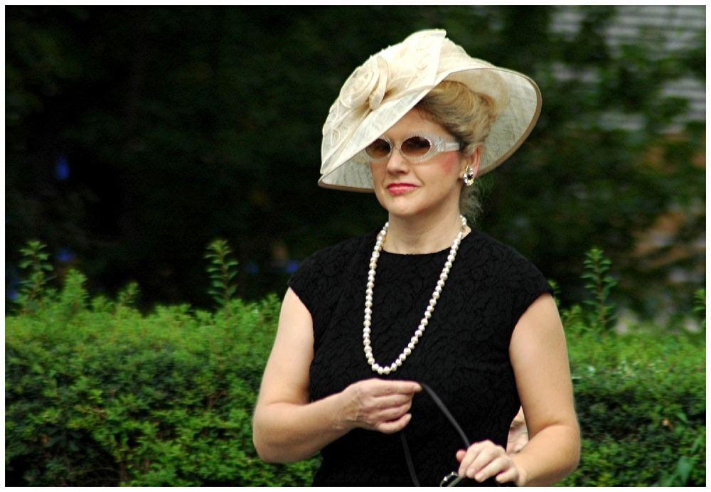 Modeschau der 60er Jahre ...