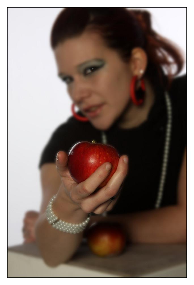 möchtest Du einen Apfel ???