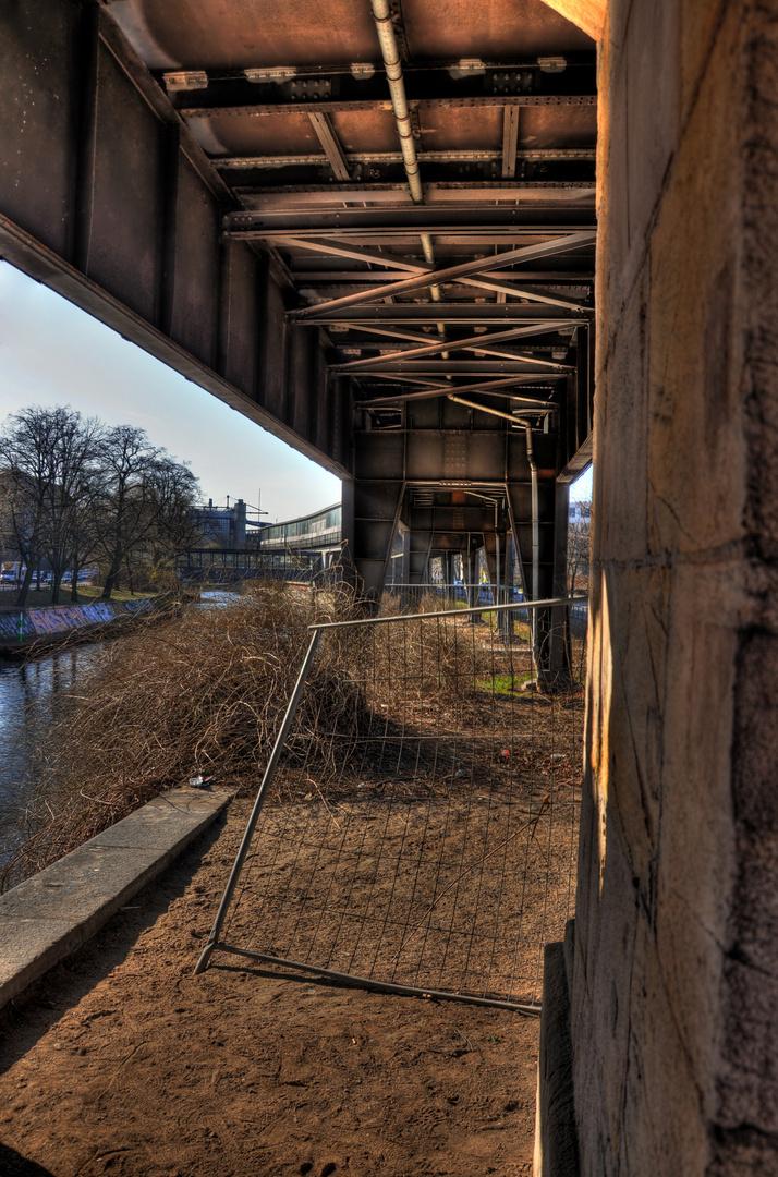 Möckernbrücke (Berlin) HDR