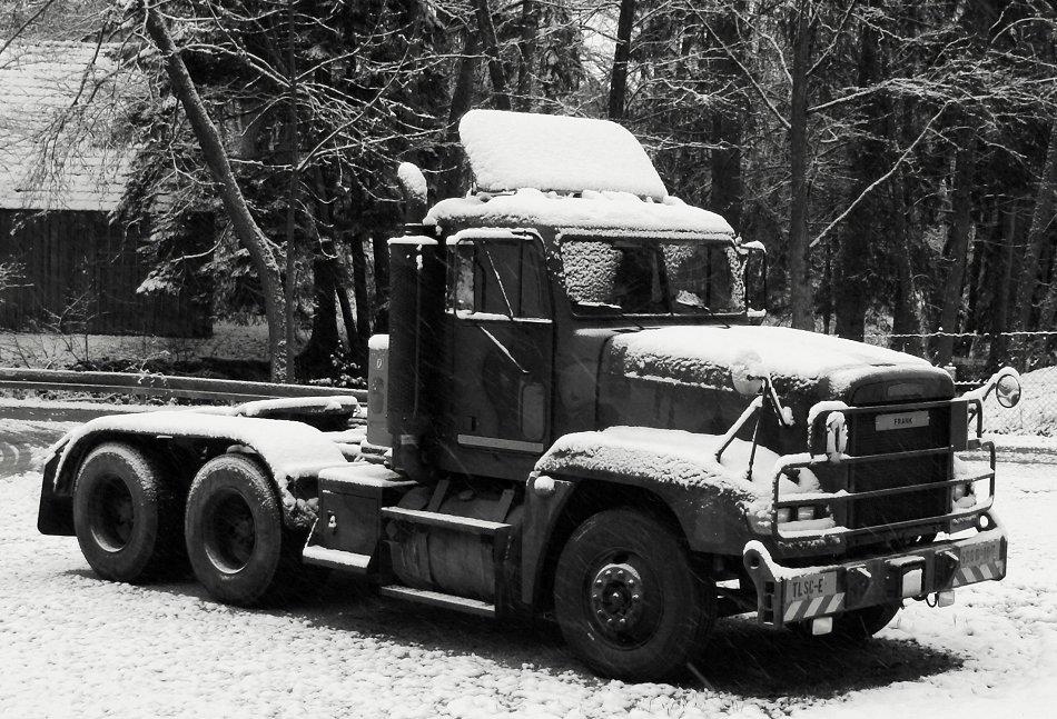 Möge dieses Fahrzeug auf ewig einschneien