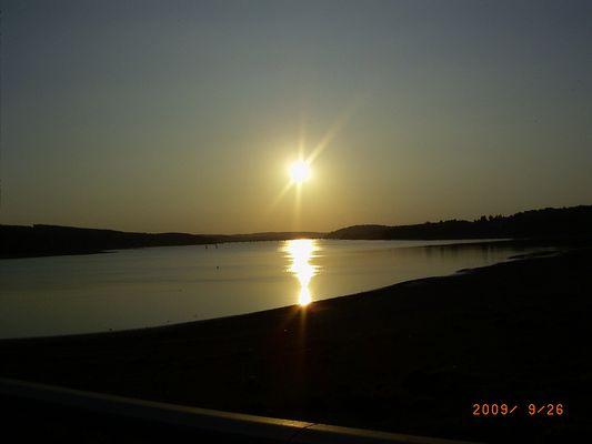 Möhnesee Sonnenuntergang
