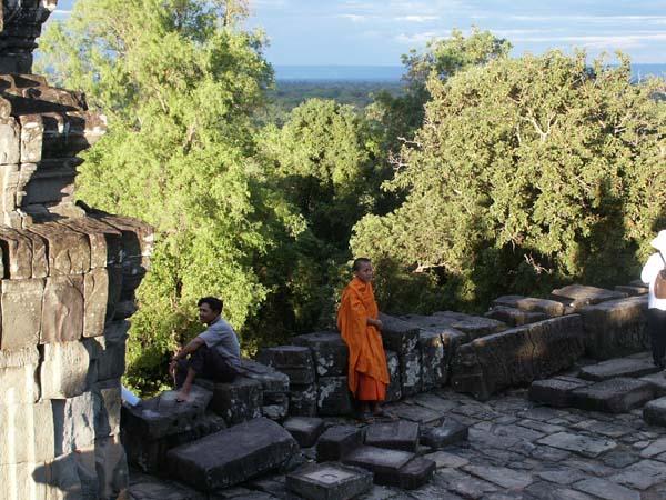 Mönch am Ankor