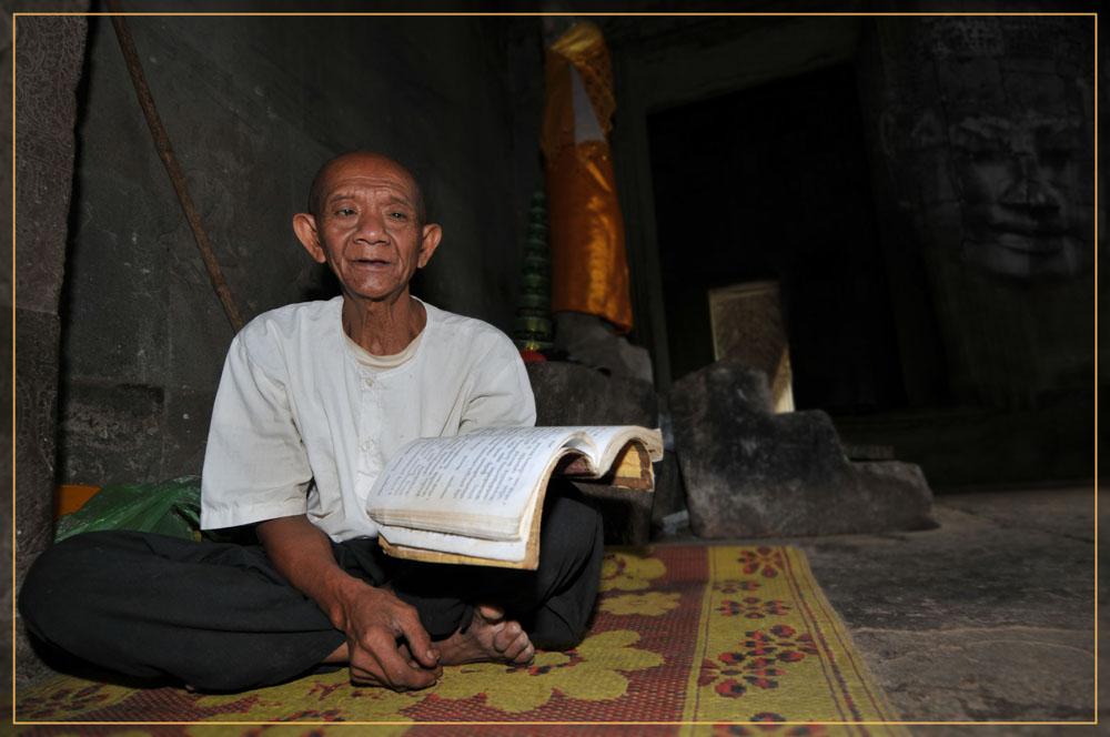 Mönch Angkor Wat