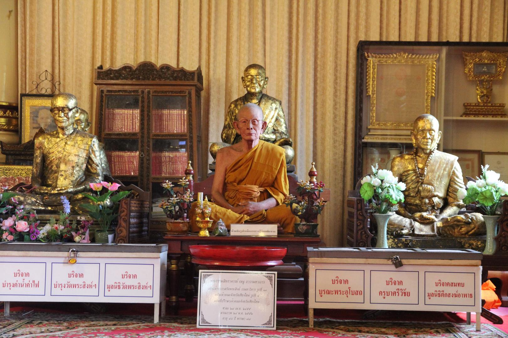 Mönch in seinem Element