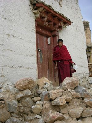 Mönch in Shangrila