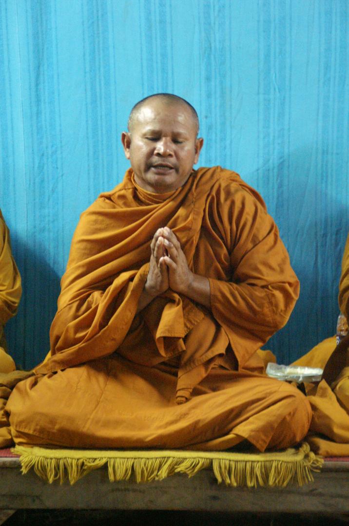 Mönch in Thailand
