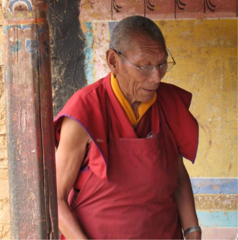 Mönch Tibet