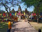 Mönchs Feierlichkeit in Phimai