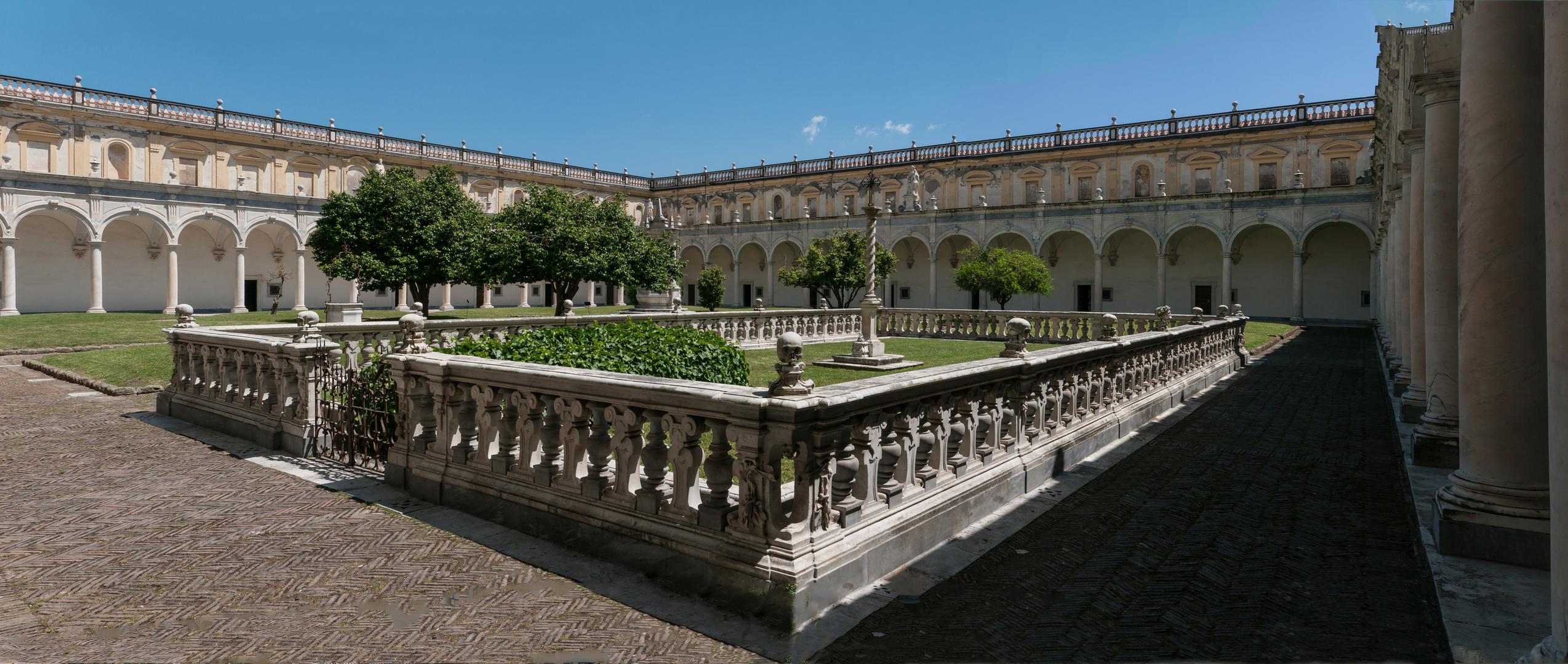 Mönchsfriedhof in der Certosa di San Martino, Napoli
