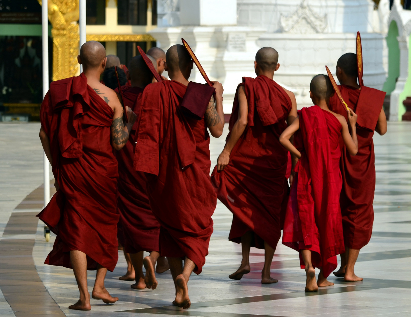 Mönchsgruppe