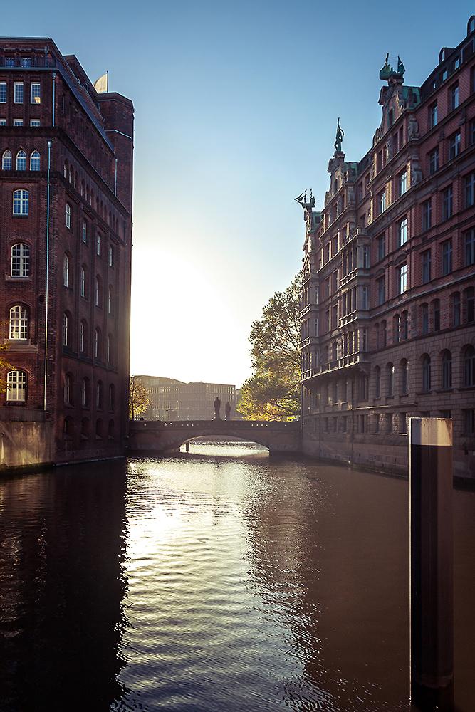 Mönkedammfleet in Hamburg