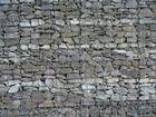 Mörtellose Bruchsteinwand