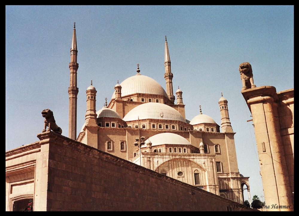 Mohammed-Ali-Moschee in Kairo 1990