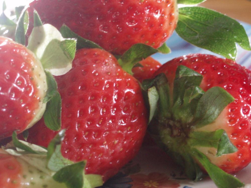 Moi , j'aime les fraises , et toi ?