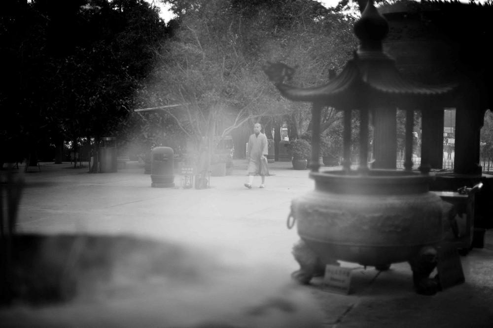 Moine, Lantau Monastery, Hong Kong
