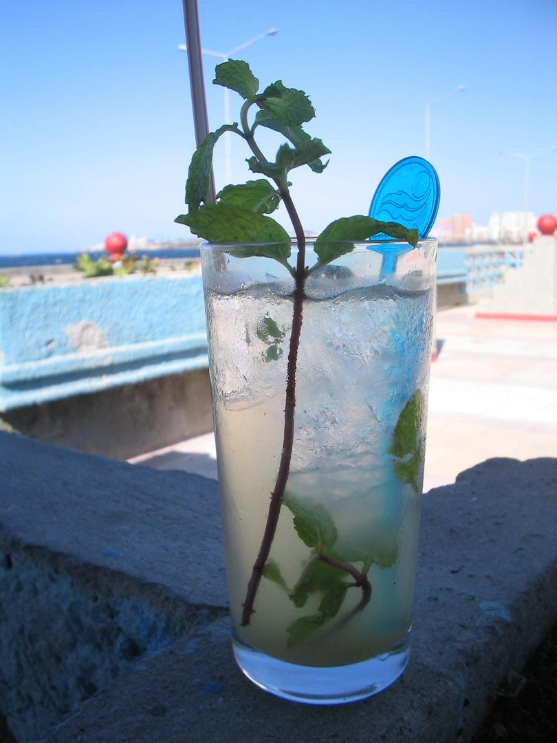 Mojito-Pause in Havanna , Kuba