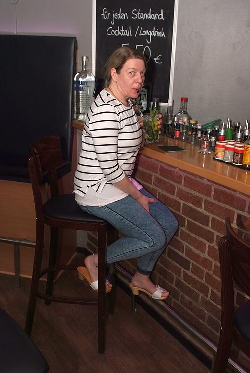 Mojito Royal at falkners barfuss in Peggys