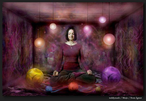 Mojo Di - die Meditationslehrerin !
