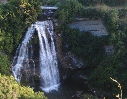 Mokau Falls am Lake Waikaremoana