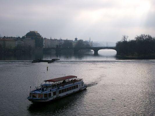 Moldau im Januar