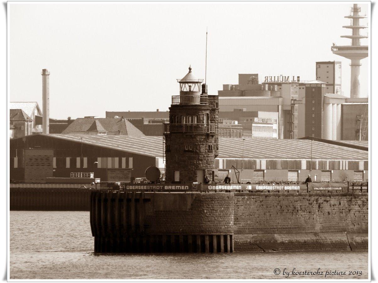 Molenfeuer Überseehafen Süd