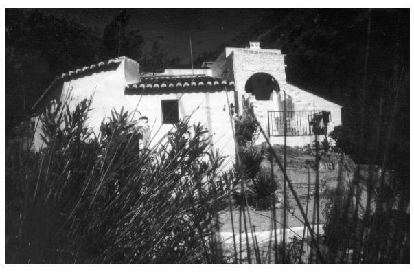 Molino( Wassermühle) in der SIerra