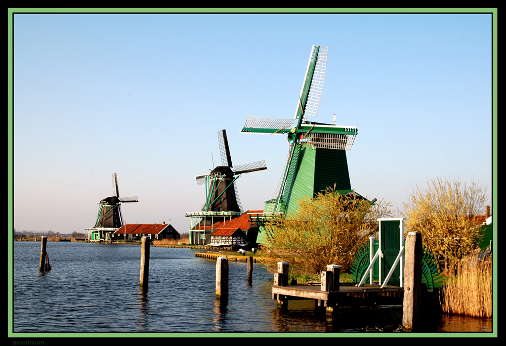 Molins a Holanda