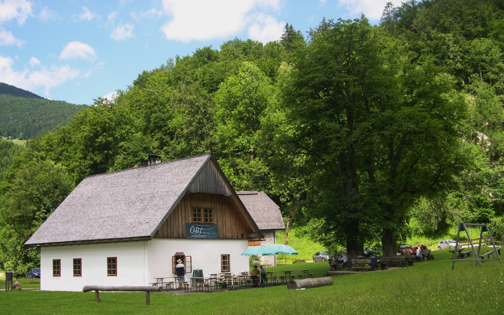 Molln - Bodinggraben - Jagahäusl