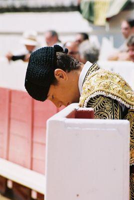 Moment de concentration ou de prière