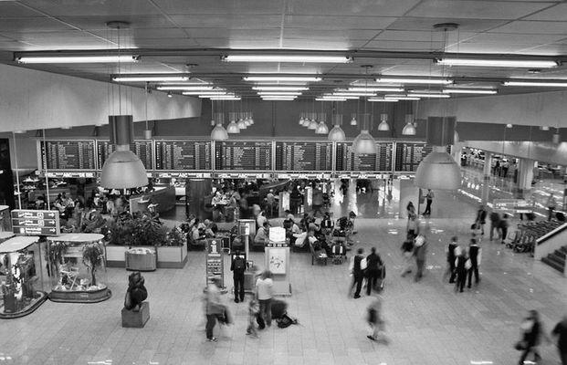 Momentaufnahme am Flughafen