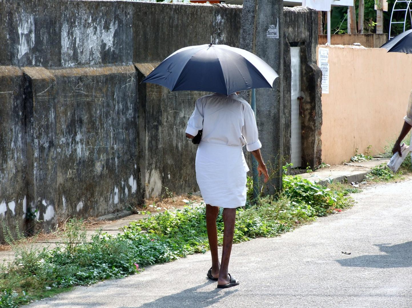 Momentaufnahme auf den Strassen Indiens